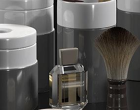 3D bathroom accessories face