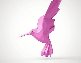 statue Hummingbird 3D printable model