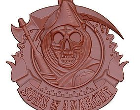 Sons of anarchy 3D model bas-relief