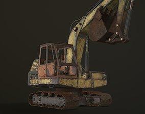 3D model E-5051 Russian excavator