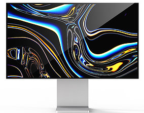 Apple display pro display XDR 3D model