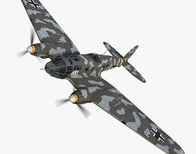 Heinkel He 111 5J-ES 3D asset