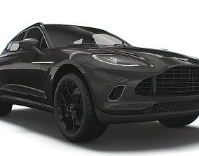 3D Aston Martin DBX Q Worldwide 2021