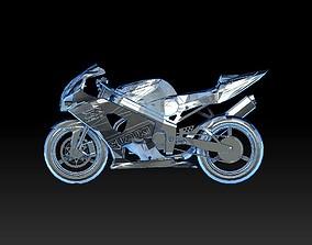 3D model sport bike vehicle