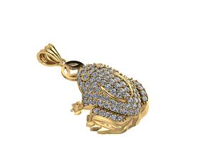 toad jewelry diamond 3D printable model