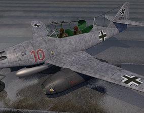 Messerschmitt Me-262B-1a Nachtjager 3D