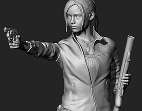 Claire Redfield Resident Evil 2 Remake 3D printable model