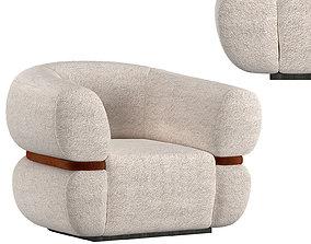 Malibu Armchair 3D