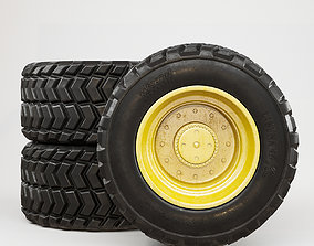 3D model wheel dirt