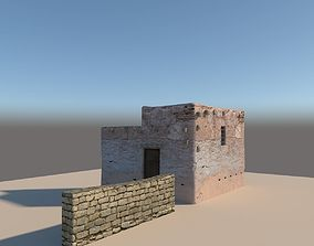 3D model Old arabic style House