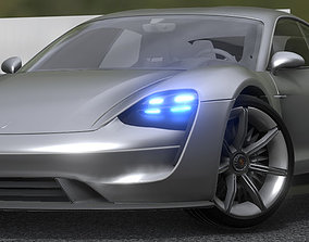 Porsche Taycan 2019 Updated 3D