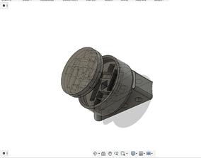 3D print model Magnetic bike phone holder