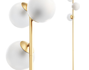 3D Joybird Quincy Floor Lamp