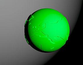 Earth 3D print model