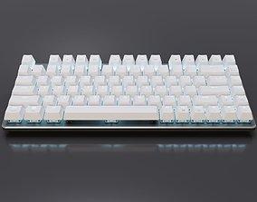 Mechanical Keyboard 82-Key LED 3D