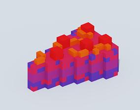 3D model Voxel Desert - 6