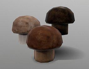 Cremini Mushroom 3D model