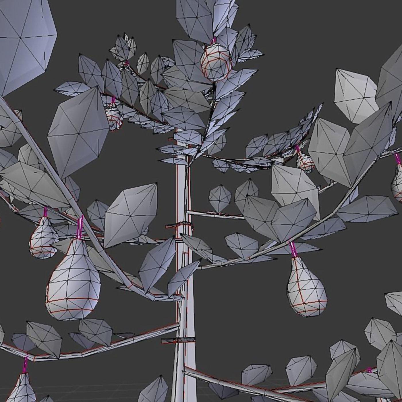 Small Pear Trees - Four Seasons