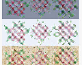 perforation Flowers 3D model