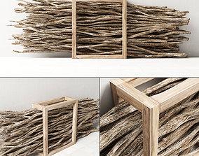 Fire wood 3D