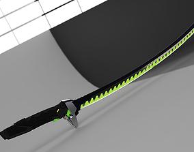 overwatch genji sword 3D printable model