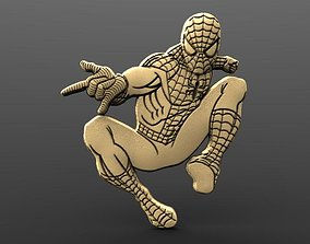 Spider man Bas relief 3D print model