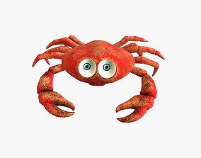 Crab LowPoly 3D asset