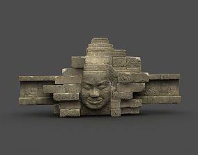 3D asset Angkor Wat Games res model 05