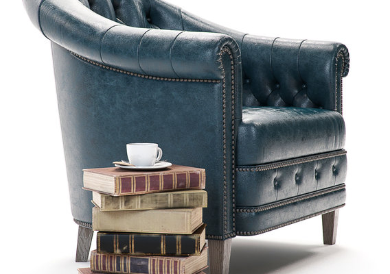 Furniture Visualization |  Curations Limited | Chambery Armchair