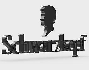 Schwarzkopf logo 3D