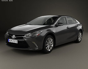 Toyota Camry Limited 2015 3D model mk10