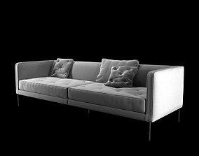 Easy lipp sofa by living divani 3D