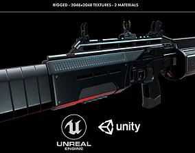 Crye Six12 Shotgun 3D asset