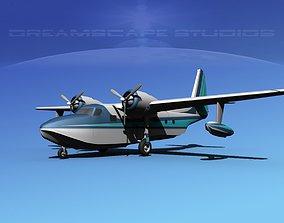 Grumman G-73 Mallard V08 3D
