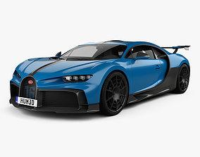 Bugatti Chiron Pur Sport 2021 3D model
