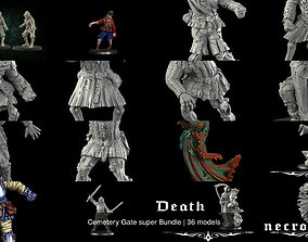 3D Cemetery Gate super Bundle