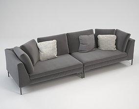 Lipende sofa 3D model