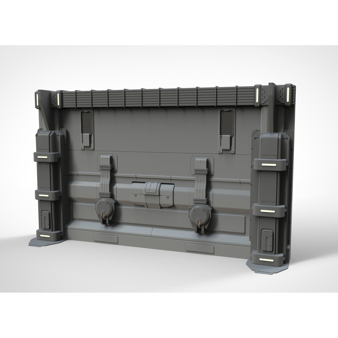 sci-fi Architecture kitbash 30