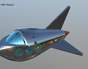 3D Simple SpaceShip Rocket