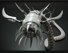 3D model animated Snakebot-RS1