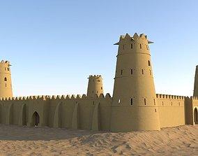 Arab Fort 3D model