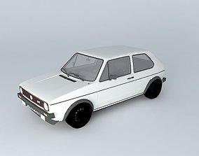 Volkswagen Golf Mk1 GTI Typ 17 1975 3D