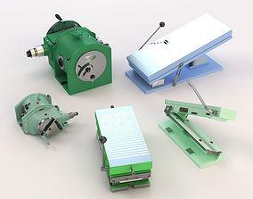 Iron tools 3D model