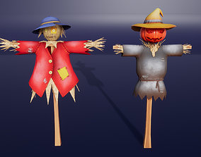 Scarecrow Stylized 3D model realtime