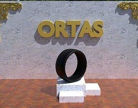 ORTAS TIRE NO 33 GAME READY 3D asset realtime