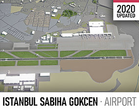 Istanbul Sabiha Gokcen International Airport - 3D model