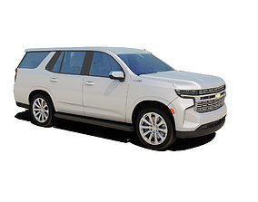 2021 Chevrolet Tahoe 3D model