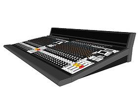 Mixing Board - Recording Studio Mixer 3D model