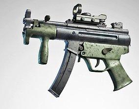 MP5K Tactical Sub-Machinegun 3D model