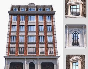 3D asset Classic building